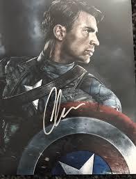 Chris Evans Autograph Captain America SIGNED PHOTO JSA COA 906 | Chris evans,  Chris evans captain america, Signed photo