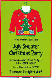 entrancing ugly christmas sweater party invitations templates homemade ugly christmas sweater party invitations ugly christmas sweater party invitations templates