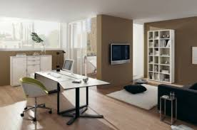 home office wall color ideas photo. Interesting Color Office Home Modern Contemporary Desk Furniture  With Wall Color Ideas Photo