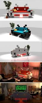 Space Invader Couch 33 Best Mosaic Space Invader Retro Games Design Theme Images On