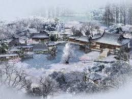 Japanese Village In Winter Wallpaper Japan Japan Und