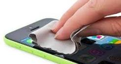 Image result for تصاویر تمیز کردن تلفن همراه