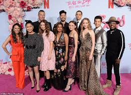 See more of to all the boys i've loved before on facebook. Lana Condor Is Joined By Noah Centineo To Lead Stars At Their Premiere Of To All The Boys Daily Mail Online