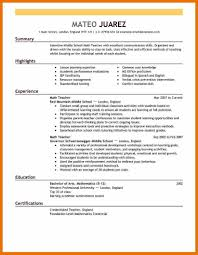 Reverse Chronological Resume Example Examples Of Resumes