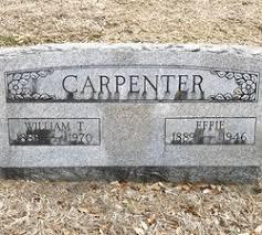Effie Doyle Carpenter (1888-1946) - Find A Grave Memorial