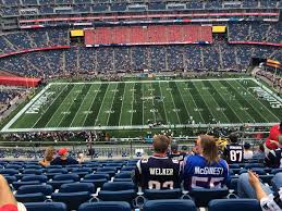 New England Patriots Putnam Club Seats At Gillette Stadium