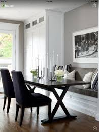 jane lockhart contemporary dining room toronto by jane lockhart interior design escarpment by benjamin moore wall color like the built in cabinet