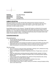 Sample Resume Office Manager Template Intended For 17 Excellent ...