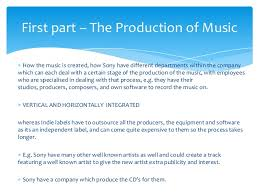 music industry essay plan a starting point  introduction 3 how the music