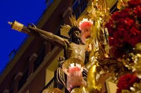 Semana Santa In Seville Pasos Costaleros And Nazarenos Seville