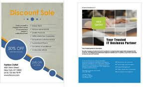 Brochure Templates On Microsoft Word Ms Office Flyer Templates Free Microsoft Word Flyer
