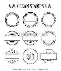 Stamps Template Design A Stamp Template Stagingusasport Info
