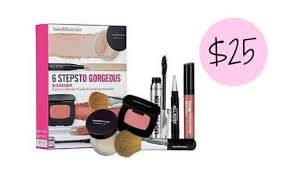 need some new makeup today only ulta is offering the bareminerals 6 steps to gorgeous kit for 25 reg 39 and a 106 value