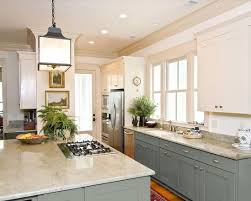 kitchens with painted cabinetspainted kitchen cabinets uppers in a different color than the