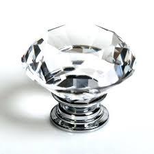 crystal furniture knobs. Black Crystal Cabinet Knobs 8pcs Clear Glass Kitchen Knob Cupboard Door Pull Handles Closet Furniture