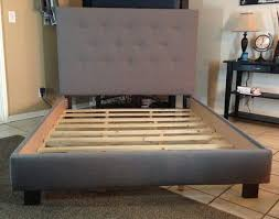 Collection in Full Size Bed Frame With Headboard Queen Full