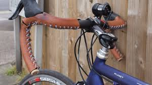 leather bicycle grips made in uk