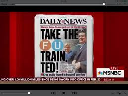 Suffer Fools Lightly Ted Crude Pick Despicable The Vomit Vote New Yorkers Are