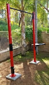 full image for outdoor pull up bar diy pull up bar garden garden pull