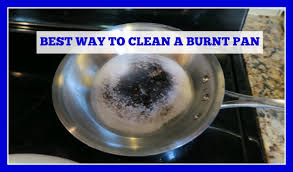 How To Clean Stainless Steal How To Clean A Stainless Steel Burnt Pan Or Pot Easy Method