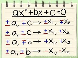 image titled solve quadratic equations with the transforming method
