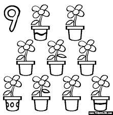 Also try other coloring pages from counting category. Numbers Online Coloring Pages