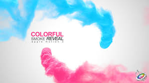 Motion Template Colorful Smoke Reveal Apple Motion By Bank508 Videohive