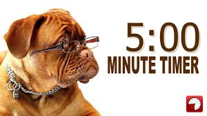 5 Minute Powerpoint Timer 5 Minute Timer For Powerpoint And School Alarm Sounds With Dog Bark