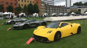 London S Most Exclusive Supercar Show Motoring Research
