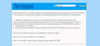 pier 1 imports careers. Pier 1 Imports Job Application Careers