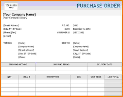 Delivery Order Sample 24 Purchase Order Template Excel Itinerary Template Sample 11