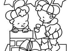Kinder Kleurplaat Zacov