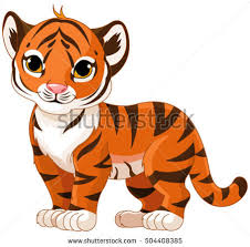 cute animated baby tigers. Plain Baby Illustration Of Cute Baby Tiger In Cute Animated Baby Tigers