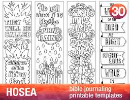 Free printable coloring pages for kids! Hosea 4 Bible Journaling Printable Templates Illustrated Etsy