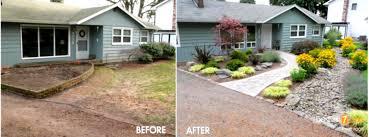 backyard landscape design plans. Front Yard Landscape Ideas Adorable Small Landscaping Low Maintenance Curb Garden Backyard Design Plans
