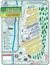 frontier cground site map