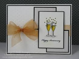 best 25 wedding anniversary cards ideas only on pinterest Wedding Card Craft Pinterest happy anniversary glasses by melissa_aggie cards and paper crafts at splitcoaststampers Pinterest Card Making Ideas