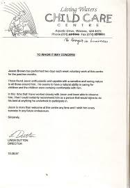 cover letter sample reference for child care worker cover letter for child care assistant