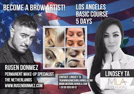 new cl alert learn the art of ombré eyebrowicroblading with lindsey ta and rusen donmez