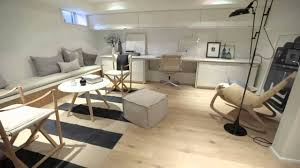 home office renovations. Interior Design \u2014 Modern Scandinavian-Inspired Bright Basement Renovation - YouTube Home Office Renovations U