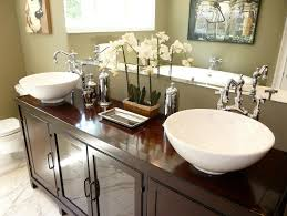 Bathroom Sinks And Vanities HGTV Classy Bathroom Vanity Countertop Ideas