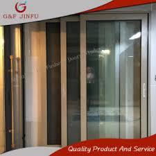 soundproof sliding doors. High-End Soundproof Aluminium Profile Sliding Doors With Double Glass (JFS-19021) O
