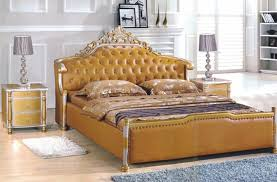 modern style beds. Brilliant Modern Modern Style King Size Golden Yellow Leather Beds Bedroom Furniture From  China Market On Modern Style Beds N