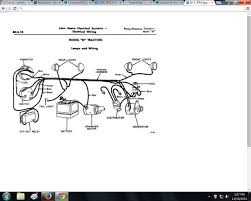 jd wiring diagram i have a 1950 john deere m tractor i need a wiring diagram