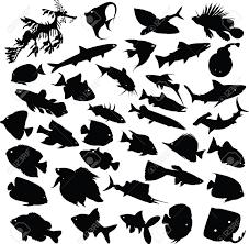 魚シルエット