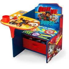 nick jr paw patrol chair desk with storage bin by delta children walmart
