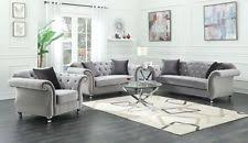 Gray Sofas Loveseats and Chaises