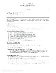 Teacher Assistant Resume Thiswritelife Com