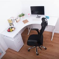 unique computer desk design. minimalist_modern_lshapedhomecomputerwritingdeskwhite unique computer desk design c