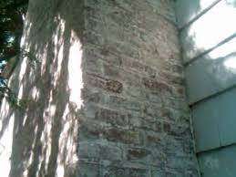 removing old paint from brick walls paint residue after l away brick chimney